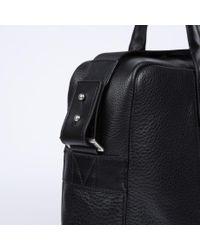Paul Smith - Men'S Black Pebble Embossed Leather 'City Webbing' Business Folio for Men - Lyst