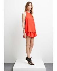 Forever 21 - Red The Fifth Label Sahara Top - Lyst