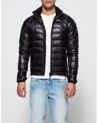 canada goose black hybridge lightweight jacket