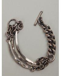 Tobias Wistisen | Metallic Chunky Chain Bracelet for Men | Lyst