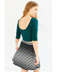 Project Social T - Green Angie Cropped Top - Lyst