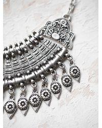 Free People | Metallic Chanour Womens Antalya Coin Collar | Lyst