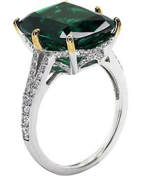 Carat* - Green Grand Canary 8ct Cocktail Ring - Lyst