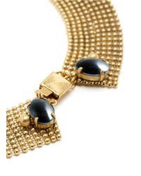 Ela Stone - Metallic Liad Bead Mesh Necklace - Lyst