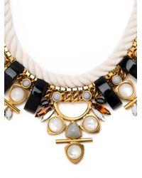 Lizzie Fortunato | Black Monte Alban Rope Necklace | Lyst