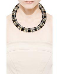 Faraone Mennella - Multicolor Bi Colour Quartz Necklace From Brazil - Lyst