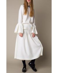 Mother Of Pearl - White Varden Wool Top - Lyst