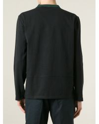 Marni | Black Contrasted Neck Sweatshirt for Men | Lyst