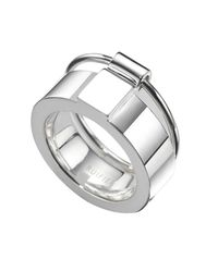 Ruifier | Metallic Silver Icon Ring | Lyst