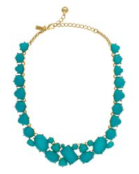 kate spade new york | Blue Color Pop Necklace | Lyst