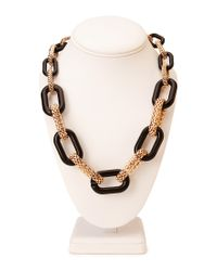 Forever 21 - Metallic Graduated Chain Link Necklace - Lyst