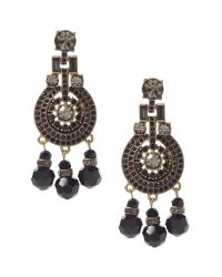 Banana Republic - Metallic Pearls Please Chandelier Earring - Lyst