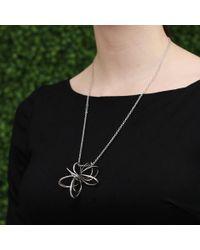 Mattia Cielo - Metallic Small Pavone Ring Necklace - Lyst
