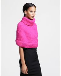 Wool And The Gang | Pink Ring My Bell Cape | Lyst