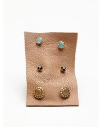 Free People - Multicolor Tiny 6 Pack Studs - Lyst