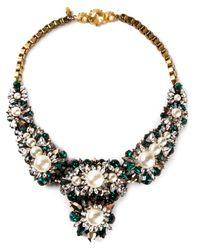 Shourouk | Metallic 'apolonia' Necklace | Lyst