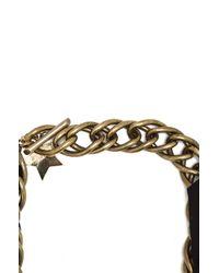 Lanvin - Metallic Altair Star Necklace - Lyst