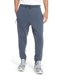 Bench | Blue 'spinlocker' Drawstring Sweatpants for Men | Lyst