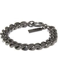 The Kooples - Black Chain Bracelet - For Women - Lyst