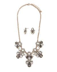 Forever 21 | Metallic Statement Jewelry Set | Lyst