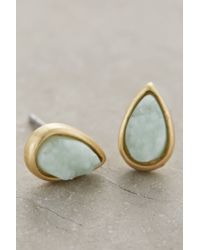 Anthropologie | Green Goccia Studs | Lyst