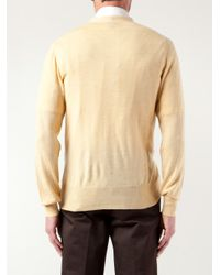 Vivienne Westwood | Yellow Slouchy Pockets Cardigan for Men | Lyst