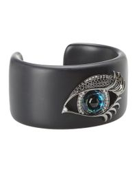 Stephen Webster | Black Envy Large Blue Eye Cuff | Lyst