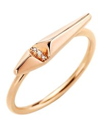 Monique Péan | Pink Diamond Ascent Stacking Ring | Lyst