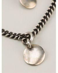 Ann Demeulemeester - Metallic Multi Chain Necklace - Lyst