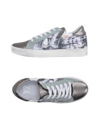 Y Not? - Gray Low-tops & Trainers - Lyst
