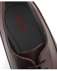 BOSS Brown Negolas Oxford Shoes for men