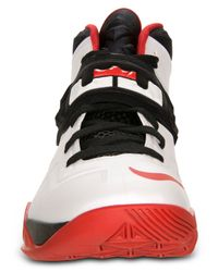 Nike - White Men'S Zoom Solder Vii Basketball Sneakers From Finish Line for Men - Lyst