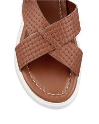 Kelsi Dagger Brooklyn - Brown Deedee Flatform Sandals - Lyst
