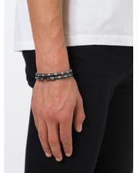 Tod's - Black 'my Colours' Bracelet for Men - Lyst
