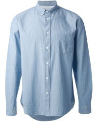 Acne Studios | Blue Isherwood Cham Shirt for Men | Lyst