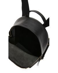 Lotuff Leather - Black Zipper Backpack for Men - Lyst
