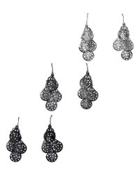 Aéropostale | Multicolor Chandelier & Stud Earring 6-pack | Lyst