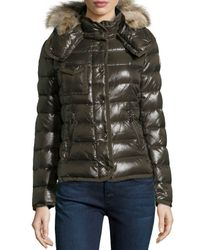 Moncler | Green Armco Celsie Puffer | Lyst