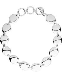 Links of London | Metallic Grace Sterling Silver Bracelet | Lyst