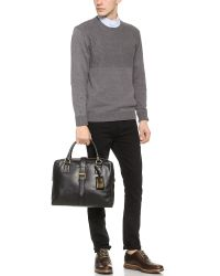 Marc Jacobs | Black Leather Briefcase for Men | Lyst