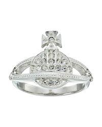 Vivienne Westwood | Metallic Mini Orb Ring | Lyst