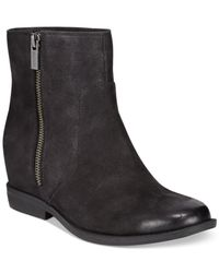 Kenneth Cole Reaction | Black Lift It Booties | Lyst