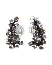 Dorothee Schumacher | Metallic Crystal Edge Ear Cuffs Small | Lyst