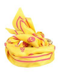Alexander McQueen - Yellow Bracelet - Lyst