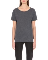 Rag & Bone | Gray Concert Jersey T-shirt - For Women | Lyst