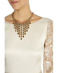 Coast | Metallic Schona Necklace | Lyst