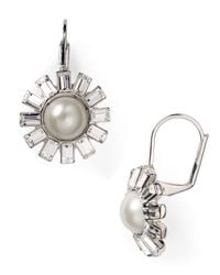 Ralph Lauren - Metallic Lauren Drop Earrings - Lyst