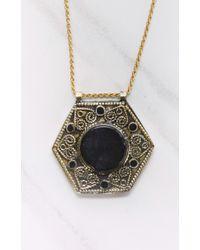 Vanessa Mooney | Black Alabama Onyx Necklace | Lyst