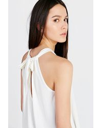 Silence + Noise | White Silence + Noise Tie It Up Tank Top | Lyst