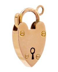 Annina Vogel | Pink Rose Gold Heart Charm | Lyst